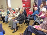 Tuesday Lunch Club, Christmas singing, in the...