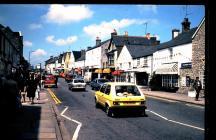 Cowbridge High Street north side 1970s