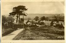 Aberthin village, 1955 postcard