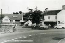 Aberthin village centre 1960s