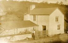 Paradwys farm, Llanquian Road, Aberthin ca 1915