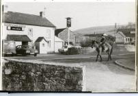 Aberthin village, Hare & Hounds 1970s