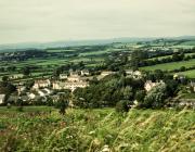 Aberthin village from Stalling Down