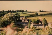 Court farm & cottages, Aberthin 1991