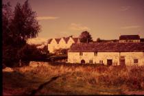 Great House & Court farm cottages, Aberthin