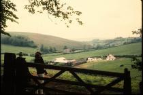 Pant Wilkin farm, Aberthin 1971
