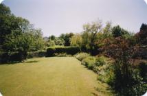 Sweetings, Aberthin ca 2004 Garden view