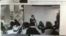 Cynhadledd Flynyddol Cymorth i Ferched Cymru 1988