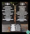 Headstones of the graves of Rabbi Asher Grunis ...