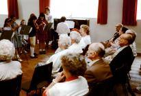 School visit to Senior Friends to perform a...