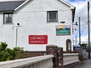 'Cofiwch Dryweryn' graffiti, Cross Hands