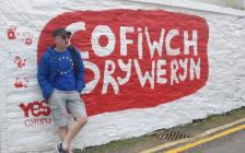 'Cofiwch Dryweryn' graffiti, Llangrannog