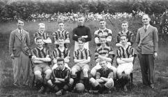 Llandysul County School Football Team 1934-35