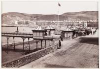 Aberystwyth, Teras y Môr a Mynedfa'r Pier, c.1880