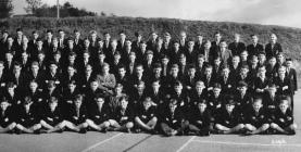 Llandysul County School Staff and Students...