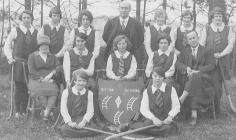 Llandysul County School Hockey Team, 1927
