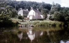 Cenarth - Coracles on the River Teifi, 1962