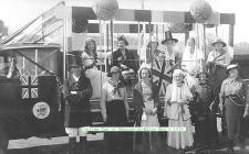 King George V Silver Jubilee Celebrations in...