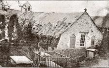 Old Cenarth Church in the mid-1800s.