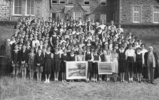 Llandysul County School Presentation, 1954