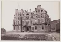 Gwesty'r Queen's,  Aberystwyth, c.1880