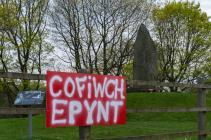 Cofiwch Epynt, memorial to Prince Llywelyn,...