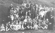 Graig Baptist Chapel Outing, About 1945.