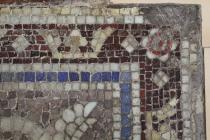 Corner damage in Jesse Rust mosaic