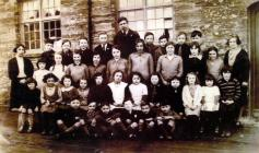 Staff and Pupils of Llangoedmor Church School,...