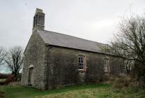 St Andrew's Church, Bayvil, Pembrokeshire.
