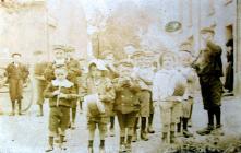 Llandudoch Midget Band, St Dogmaels, ca 1905