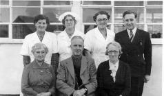 Newcastle Emlyn Primary School Staff, 1952.