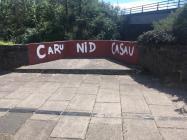 'Caru Nid Casau' (Love Not Hate),...
