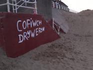 'Cofiwch Dryweryn' mural, Aberavon...