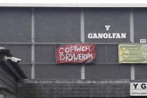 'Cofiwch Dryweryn' mural, Porthmadog