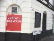 'Cofiwch Dryweryn' mural, Penygroes