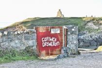 'Cofiwch Dryweryn' mural, Porth...