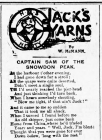 JACK'S YARNS: CAPTAIN SAM OF THE SNOWDON PEAK