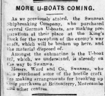 MORE U-BOATS COMING (1919)