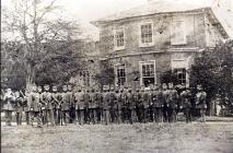 Cardigan Rifle Volunteers at Priory House