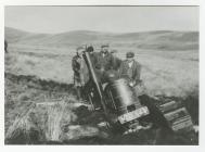 Tractor Stuck in Marsh