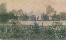 Holy Cross church, Cowbridge ca 1904