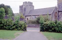 Holy Cross church, Cowbridge 1964