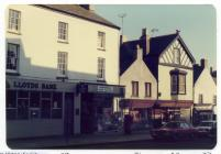 27 to 33 High St, Cowbridge 1970s