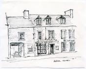 Bear Hotel, 63 High St, Cowbridge, sketch