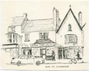 41 & 43 High St, Cowbridge, sketch