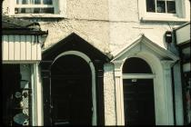 35a & 35b High St, Cowbridge, doorways 1970s