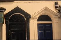 35A and 35B High Street doorways 2005 JA8124