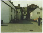 63 High St, Bear Hotel, Cowbridge 1977