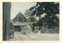 Holy Cross, Cowbridge in snow 1960s